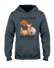 The Most Wonderful Time - Sphynx Cat Hooded Sweatshirt thumbnail