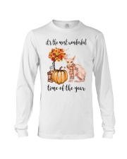 The Most Wonderful Time - Sphynx Cat Long Sleeve Tee thumbnail