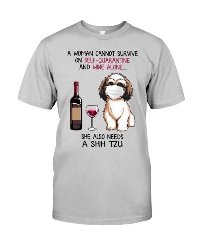 Cannot Survive Alone - Shih Tzu
