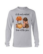 The Most Wonderful Time - Brown Newfoundland Long Sleeve Tee thumbnail