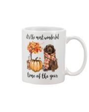 The Most Wonderful Time - Brown Newfoundland Mug thumbnail