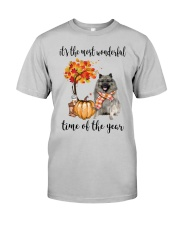 The Most Wonderful Time - Keeshond Classic T-Shirt front