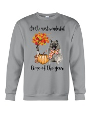 The Most Wonderful Time - Keeshond Crewneck Sweatshirt thumbnail