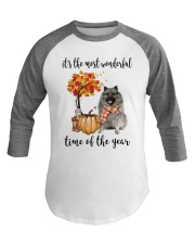 The Most Wonderful Time - Keeshond Baseball Tee thumbnail