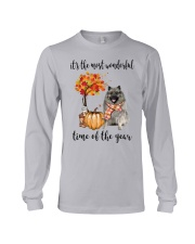 The Most Wonderful Time - Keeshond Long Sleeve Tee thumbnail