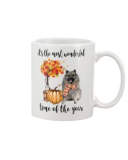 The Most Wonderful Time - Keeshond Mug thumbnail