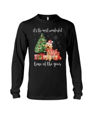 The Most Wonderful Xmas - Poodle Long Sleeve Tee thumbnail