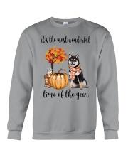The Most Wonderful Time - Black Shiba Inu Crewneck Sweatshirt thumbnail