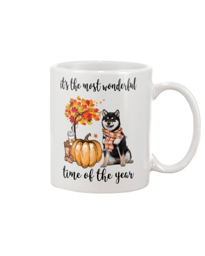 The Most Wonderful Time - Black Shiba Inu