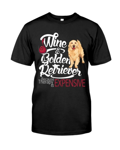 Golden Retriever - Therapy is expensive