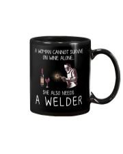 Wine and A Welder Mug thumbnail