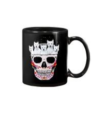 Half Skull Westie Mug thumbnail