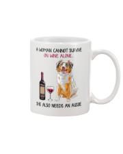 Wine and Aussie 2 Mug thumbnail