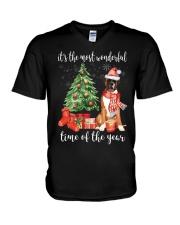 The Most Wonderful Xmas - Boxer V-Neck T-Shirt thumbnail