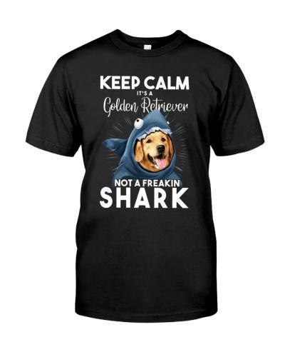 It's A Golden Retriever Not A Freakin Shark