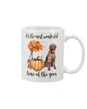 The Most Wonderful Time German Wirehaired Pointer Mug thumbnail