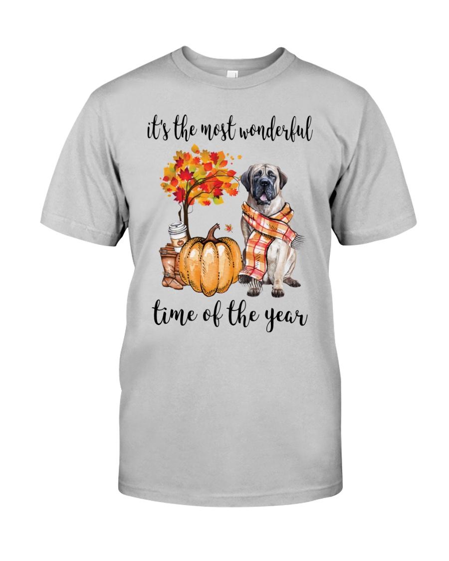 The Most Wonderful Time - English Mastiff Classic T-Shirt