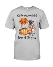 The Most Wonderful Time - English Mastiff Classic T-Shirt front