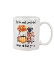 The Most Wonderful Time - English Mastiff Mug thumbnail