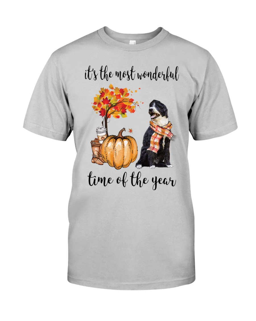 The Most Wonderful Time - Portuguese Water Dog Classic T-Shirt