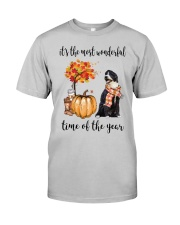 The Most Wonderful Time - Portuguese Water Dog Classic T-Shirt front