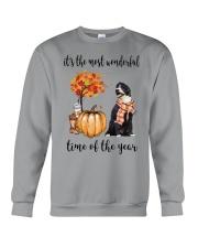 The Most Wonderful Time - Portuguese Water Dog Crewneck Sweatshirt thumbnail