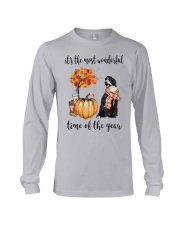 The Most Wonderful Time - Portuguese Water Dog Long Sleeve Tee thumbnail