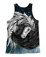 Yin Yang Horses All-over Unisex Tank back