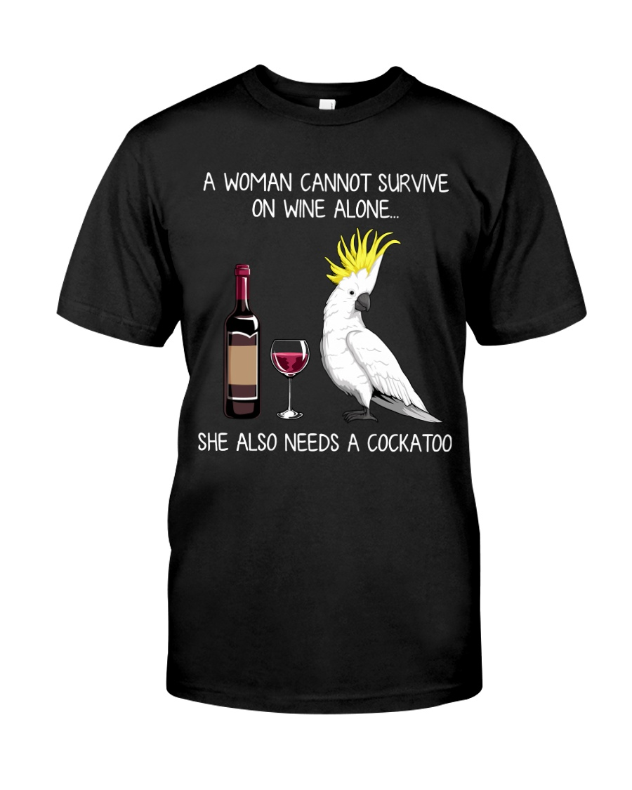 Wine and Cockatoo Classic T-Shirt