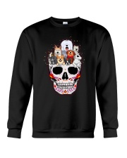 Half Skull Dogs Crewneck Sweatshirt thumbnail