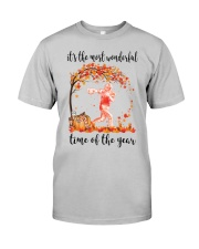 The Most Wonderful Time - Footballer Classic T-Shirt front