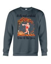 The Most Wonderful Time - Footballer Crewneck Sweatshirt thumbnail
