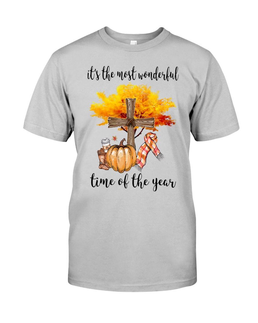 The Most Wonderful Time - Christian Cross 2 Classic T-Shirt