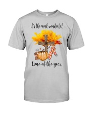 The Most Wonderful Time - Christian Cross 2 Classic T-Shirt front