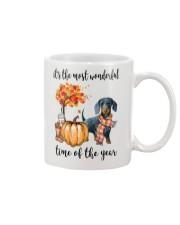 The Most Wonderful Time - Dachshund 2 Mug thumbnail