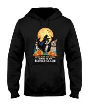 Howloween Border Collie 2 Hooded Sweatshirt thumbnail