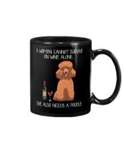 Wine and Poodle 3 Mug thumbnail