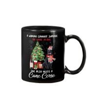 Christmas Wine and Cane Corso Mug thumbnail