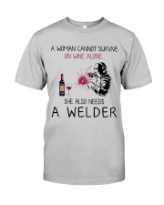 Wine and A Welder 2 Classic T-Shirt front