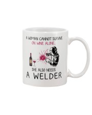 Wine and A Welder 2 Mug thumbnail
