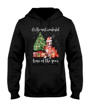 The Most Wonderful Xmas - Pit Bull Hooded Sweatshirt thumbnail