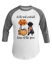The Most Wonderful Time - Schnoodle Baseball Tee thumbnail