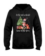 The Most Wonderful Xmas - Bernese Mountain Hooded Sweatshirt thumbnail