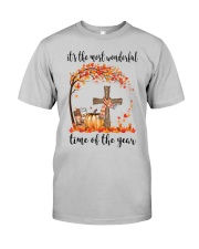 The Most Wonderful Time - Christian Cross 3 Classic T-Shirt front