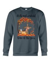 The Most Wonderful Time - Christian Cross 3 Crewneck Sweatshirt thumbnail