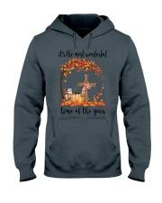 The Most Wonderful Time - Christian Cross 3 Hooded Sweatshirt thumbnail