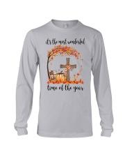 The Most Wonderful Time - Christian Cross 3 Long Sleeve Tee thumbnail