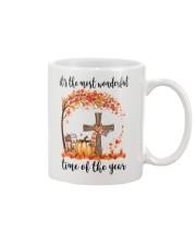 The Most Wonderful Time - Christian Cross 3 Mug thumbnail