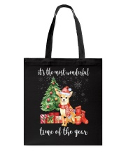 The Most Wonderful Xmas - Chihuahua Tote Bag tile