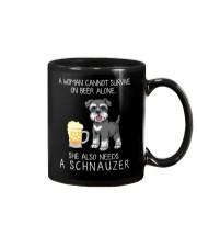 Beer and Schnauzer Mug thumbnail